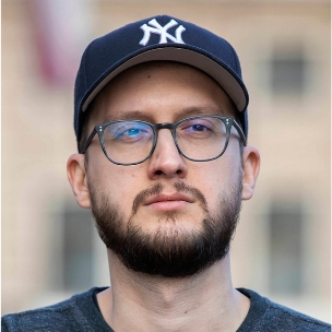 Portrait of GotCourts Designer Juraj Ivan