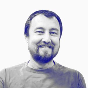 Portrait of GotCourts Mobile Developer Jaromil Adami