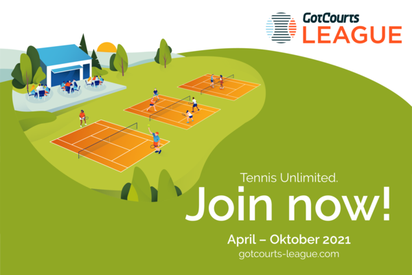 GotCourts League Banner April to October 2021 join now at gotcourts-league.com